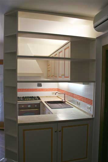 Cucina con verniciatura laccata 1