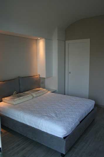 Camera in laccato bianco 3