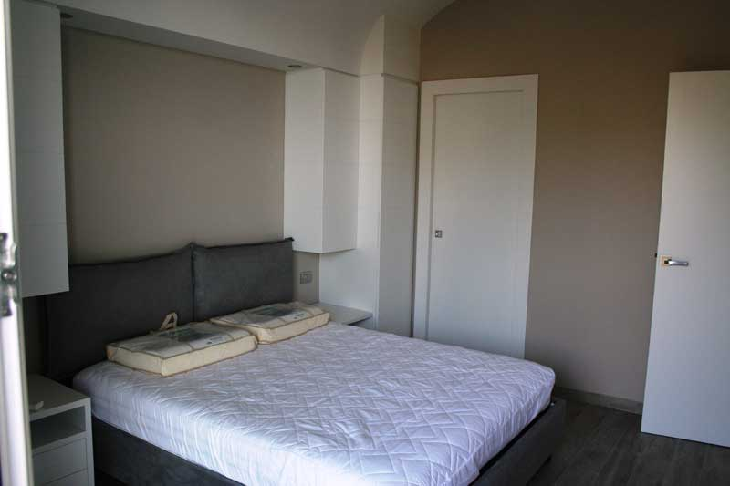 Camera in laccato bianco 4