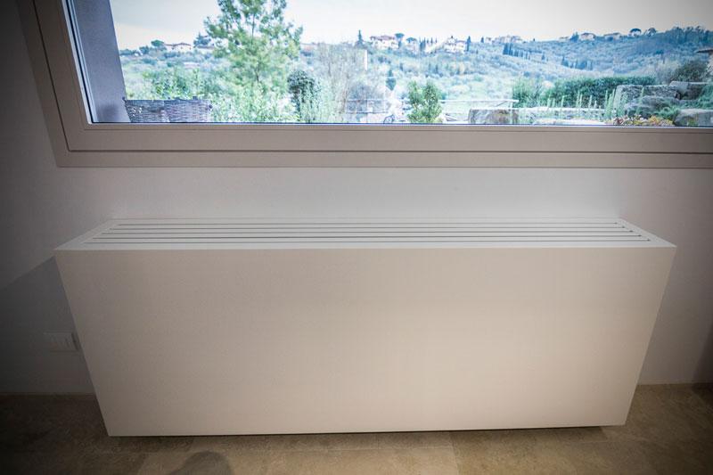 Copertura radiatore zona living