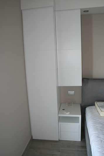 Camera in laccato bianco 6