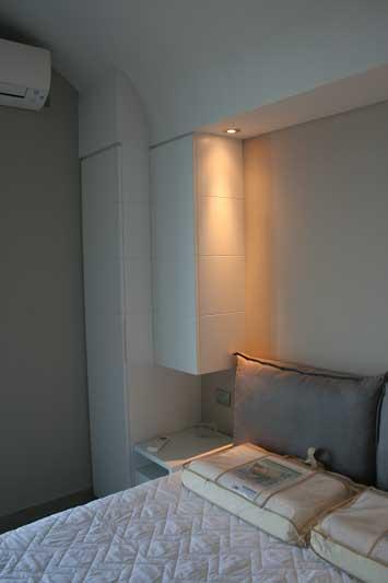 Camera in laccato bianco 1