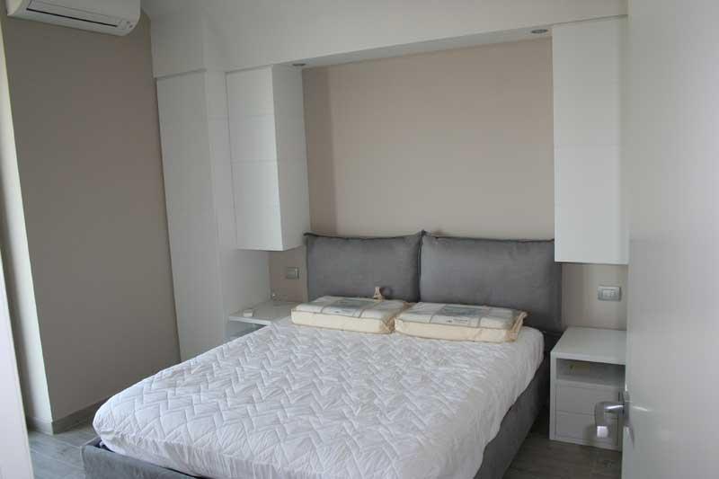 Camera in laccato bianco