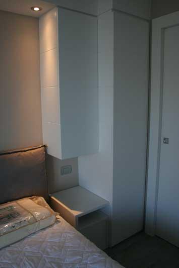 Camera in laccato bianco 2