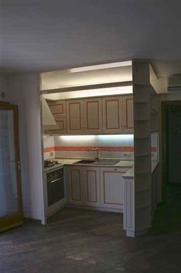 Cucina con verniciatura laccata 3
