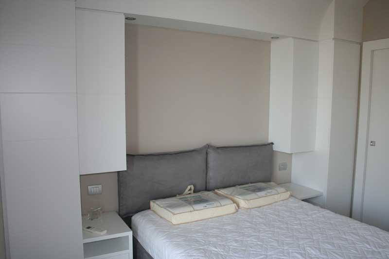 Camera in laccato bianco 5