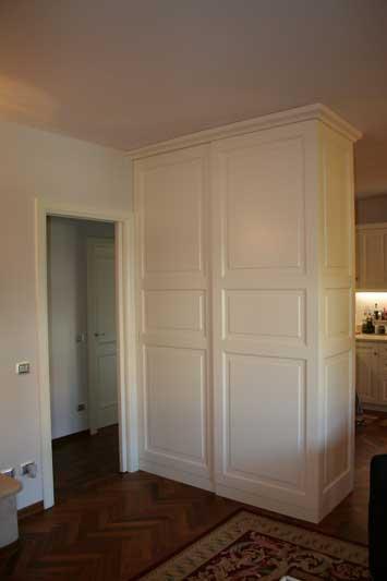 Copertura del muro divisorio tra cucina 8